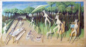 Ovartaci samt andre kunstnere fra museets samling