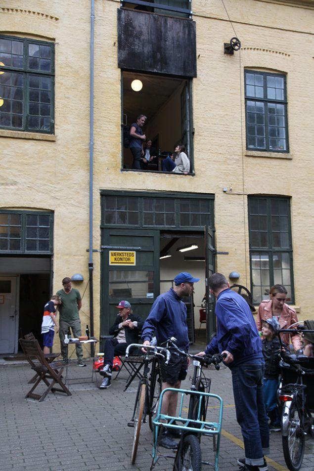 Kunstnerhuset i Classensgade, (2018). Foto: Melou Vanggaard