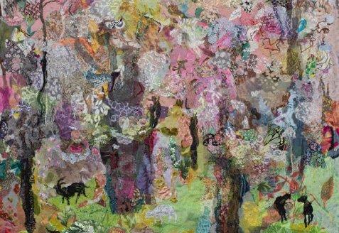 Nulle Øigaard: Mandeltræerne blomstrer.