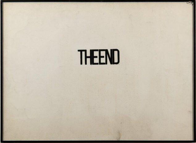 Fabio Mauri, <em>The End</em>, 1960. Courtesy of the Estate of Fabio Mauri and Hauser&Wirth. Pressefoto.