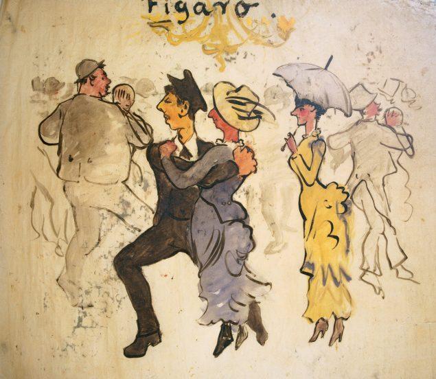 P.S. Krøyer: Sangen til John, 1884. Pressefoto.