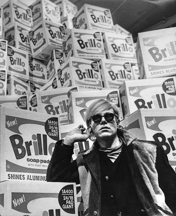 Andy Warhol, 1968 Foto: Lasse Olsson/Pressens bild