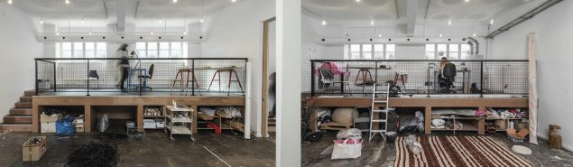 Bikubenfondens atelier. Foto: Natascha Thiara Rydvald