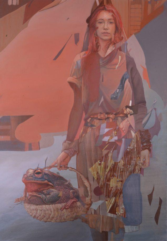 Telmo Miel, My Prince, Olie på lærred, 100x70 cm. Pressefoto