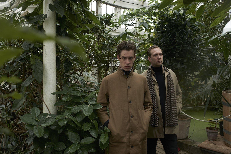 Portræt af POSH ISOLATION-stifterne Loke Rahbek og Christian Stadsgaard. Foto af Nikolaj Møller