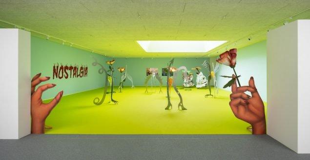 Dance with the Devil, Anna og Esben Weile Kjær. Vestjyllands Kunstpavillon. Foto: David Stjernholm