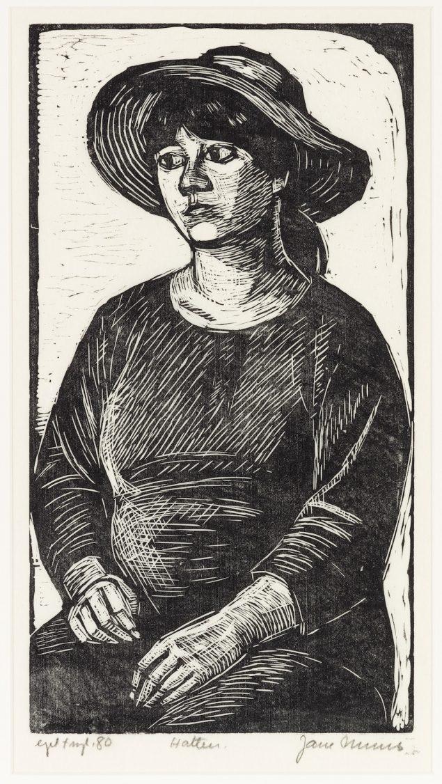 Jane Muus, Hatten, 1980. Foto: Anders Sune Berg