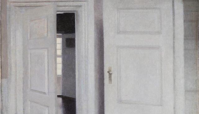 Vilhelm Hammershøi: Hvide døre, Strandgade 30, 1899. Pressefoto: Anders Sune Berg