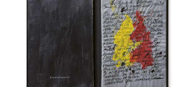 Krystalspejlet – Maldorors Melankolske Rejse. Forlag: Vandkunsten. Bogbinder: Malene Maria Lerager. Illustrator: Barry Léreng Wilmont