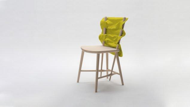 Eva Fly og Suguru Kobayashi: <i>Needle Chair</i>, 2014. Pressefoto.