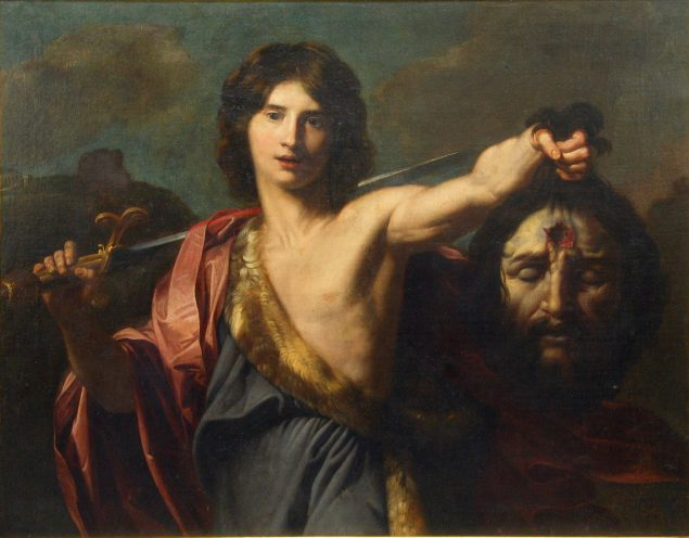 Nicolas Regnier: <i>David with the head of Goliath</i>, 17th century, Collection and the National Museum in Belgrade.