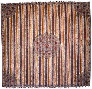 Store tekstiler udstillet i Hammershøisalen