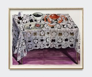 Nikki Maloof: The Tablecloth, 2020. Pressefoto.