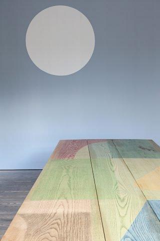 Malene Bach: Colour Transitions. Montanasalen i GL STRAND, 2020. Foto: Laura Stamer