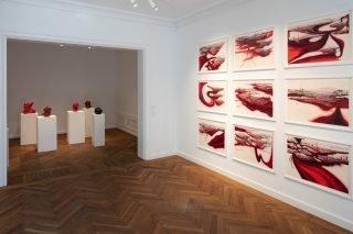 SELECTED WORKS, udstillingsview. Foto: Hans Ole Madsen,