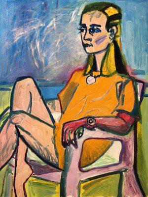 Birgitte Vad: Jeg maler dig – jeg elsker dig