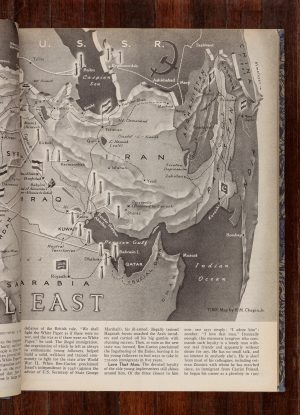 Sven Augustijnen: Maps of the Middle East (1942 – 1969)