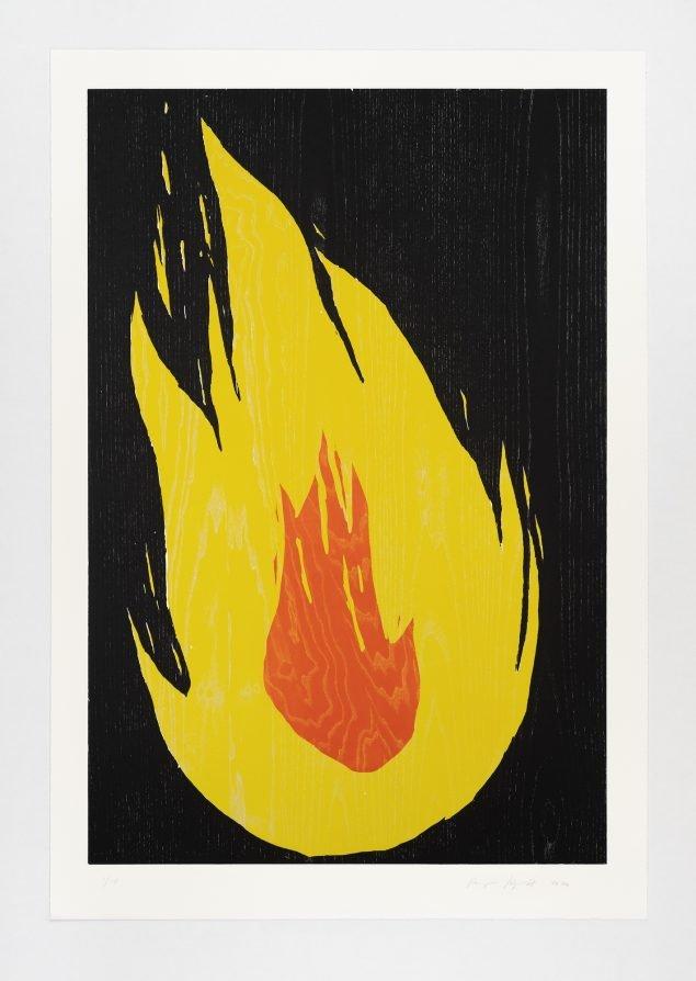 Ragnar Kjartansson: Fire 2, 2020. Pressefoto.