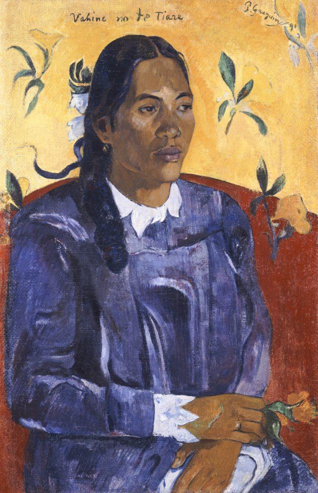 Paul Gauguin: Vahine no te Tiare, 1891. Pressefoto.