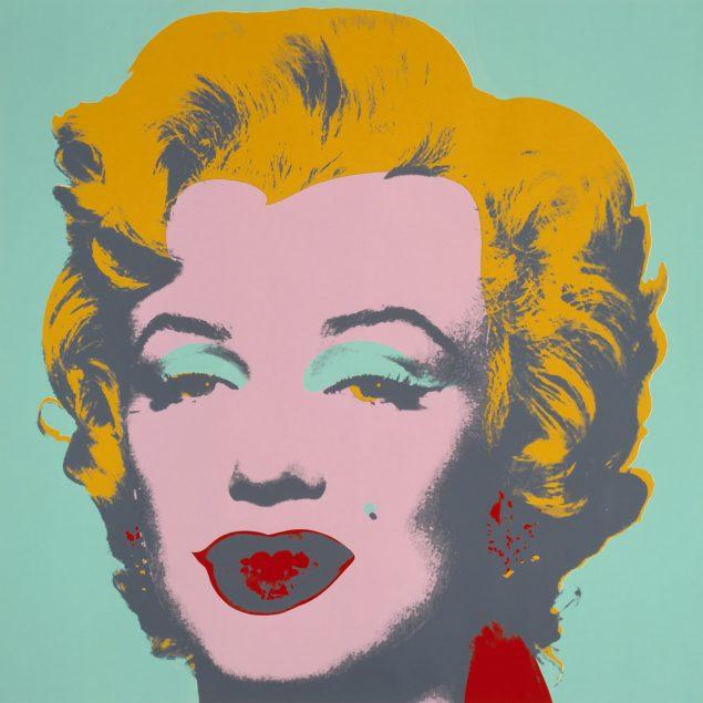 Andy Warhol: Marilyn Monroe, 1928-1987. Credit: The Andy Warhol Foundation for the Visual Arts. Værkfoto: Poul Buchard: Brøndum & Co.