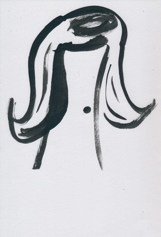 Anna Stahn: Stars In The Hair. Pressefoto.