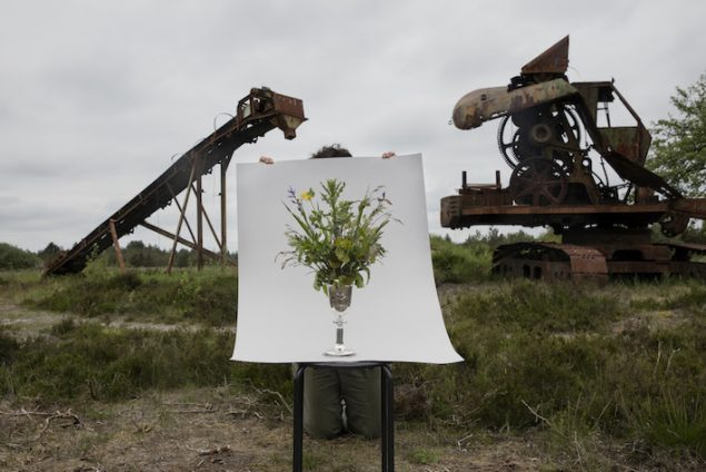 Camilla Berner: Plant Collection, BKL - Two Machines used in the Brown Coal Ditches, 2017. Pressefoto.
