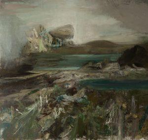 Maja Lisa Engelhardt: Danmarksbilleder – fra kyst til korn til kultur. Syv monumentale malerier og en række nye monotypier