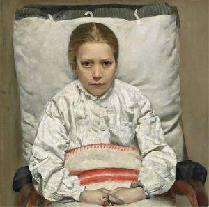 ENGLENS KYS – syge piger i nordisk kunst