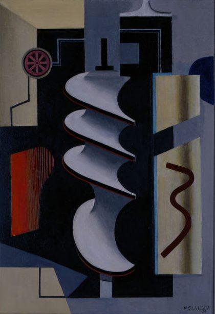 MÉCANIQUE MODERNE: Franciska Clausen, Fernand Léger & Gösta Adrian-Nilsson