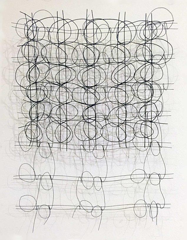 Anne Bjørn: <i>Thread Drawings</i> (2019) Foto: Anne Bjørn.