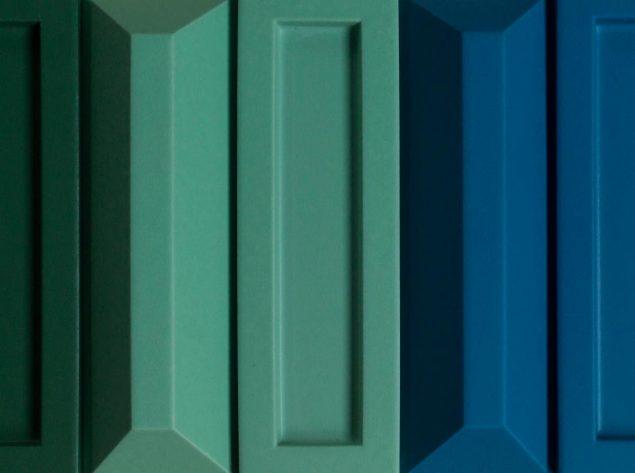 SUPERFLEX: <i>Like a Force of Nature</i>, 2021, Glazed tiles Pressefoto.